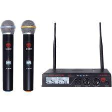 Nady Dual UHF Wireless Handheld Microphone System Ndyu2100htab