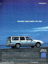 PUBLICITE ADVERTISING 036  1999  Volvo  V70 ocean Race