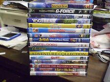 (31) Childrens Animal DVD Lot: Disney Lion King  Brother Bear  G-Force Yogi Bear