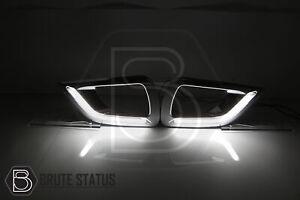 LED Daytime Running Lights for Nissan Navara NP300 D23 2015-2019 DRL DRLs
