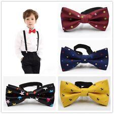 Child Boys Kid Bow Tie Necktie Suits Accessories Formal Wedding Party Bowtie UK