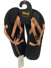 Teva Olowahu Women Synthetic Sandal In Orange Size UK 7