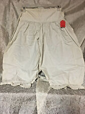 Old Antique White Cotton Bloomers or Pantaloons For Women