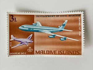 Maldive Islands 1968 Development of Civil Aviation SG 273 Mint Postage Stamp