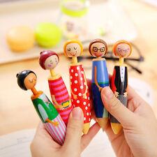 Cartoon People Kawaii BallPoint Pen Cute Office School Supply Students Kids Gift