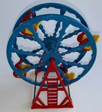 Vintage Acme Plastic, TOY FERRIS WHEEL (6 Inches Tall)