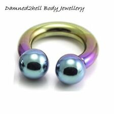 Titanium Universal 0g (8 mm) Body Piercing Jewellery