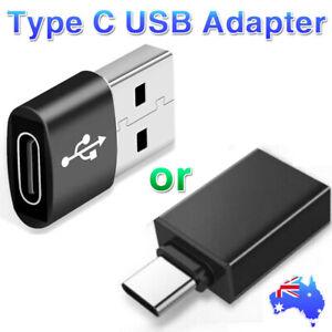 Type C Male / Female to USB 3.0 A Female / Male Converter USB-C Data OTG Adapter