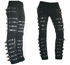 MICHAEL JACKSON MJ Costume BAD History World Tour Slim Leather Pant