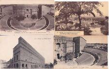 Lot de 4 cartes postales anciennes ORANGE théâtre antique 2
