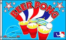 Beer Pong Pub Restaurant Cafe Sign Advertising POS 5'x3' Flag !