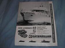 SAN LORENZO 48 VIAREGGIO 1968 ADVERTISING PUBBLICITA REKLAME WERBUNG PUBLICITE