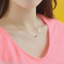 new Simple models fashion princess necklace 14k gold-plated heart-shaped pendant