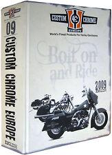 CUSTOM CHROME EUROPE 2009 catalogo completo ricambi accessori Harley Davidsons