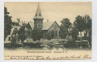 Stamford, NY - VINTAGE VIEW OF METHODIST-EPISCOPAL CHURCH - Postcard - H