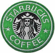"""3"""" starbucks logo Embroidered Iron On / Sew On Patch"""