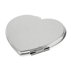 Taschenspiegel Make up Spiegel Handtasche Spiegel Kosmetikspiegel Herz Form