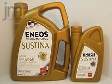 1L + 4L (5 Liter) ENEOS SUSTINA 0W-50 0W50 Motoröl Vollsynthetisch Öl