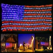 LED Flag Net Lights American String Light For Festival Indoor/Outdoor Decoration