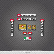 0287 Columbus Tretubi Aelle Bicycle Frame and Fork Stickers - Decals