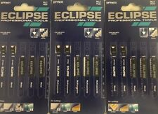 15 ECLIPSE MAKITA JIGSAW BLADES 3 PACKS WOOD METAL MULTI PURPOSE
