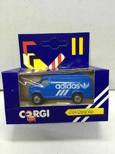 Corgi Junior J164 CHEVY VAN ADIDAS MIB, 1984 Made in Great Britain