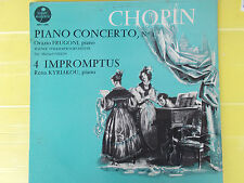 LP CHOPIN ORAZIO FRUGONI PIANO CONCERTO N° 1 RENA KYRIAKOU 4 IMPROMPTUS COME NEW