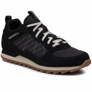 Merrell Alpine Sneaker Sportschuhe Freizeitschuhe Schnürer schwarz J16695