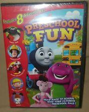 *BRAND NEW* Preschool Fun (DVD) Barney, Thomas & Friends, Kipper.. 8 Adventures