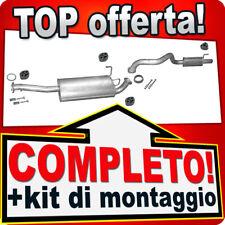 Scarico Completo TOYOTA LAND CRUISER (J9) 3.4 24V V6 Marmitta A72