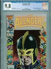 1986 MARVEL AVENGERS #273 BLACK KNIGHT COVER CGC 9.8 WHITE BOX9