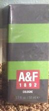 Abercrombie and Fitch A&F MEN'S 1892 cologne GREEN sealed 1.7 oz