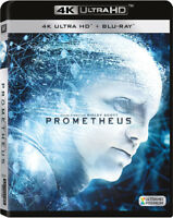 Prometheus [New 4K UHD Blu-ray] With Blu-Ray, 4K Mastering, Ac-3/Dolby Digital