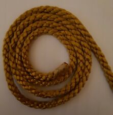 OLD GOLD UPHOLSTERY 7mm PIPING CORD TRIMMING ROPE 1metre