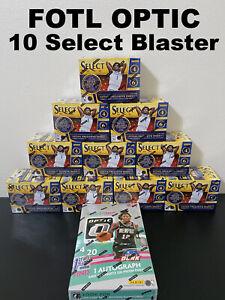 NEW YORK KNICKS NEW NBA OPTIC FOTL HOBBY & 10 SELECT BLASTER BOX Break #240