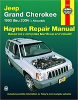 Jeep Grand Cherokee 1993-2004 shop service repair manual Haynes book