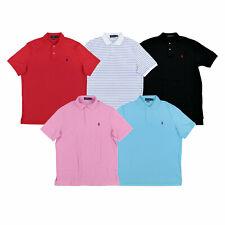 Polo Ralph Lauren мужская рубашка поло классический покрой блокировка с воротником S M L Xl Xxl