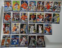 2015 Topps Series 1 & 2 Houston Astros Team Set of 25 Baseball Cards