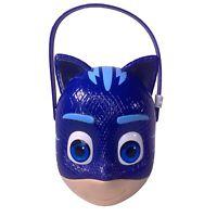 Halloween PJ MASSKS Cat Boy Plastic Trick Or Treat Bucket Easter Basket