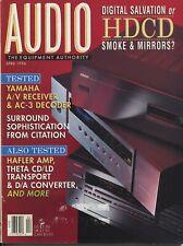 Audio Mag Apr 1996 HK Citation 7.0, Hafler 9505, NSM 10S, Yamaha RX-V2090, Theta