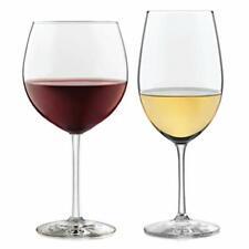 Libbey Vineyard Reserve Wine Glass Party Set for Chardonnay and Merlot/Bordeaux
