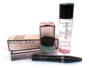 Mary Kay Indulge Soothing Eye Gel + Oil-Free Eye Makeup Remover+Ultimate Mascara