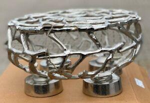 Adventskranz Kerzenhalter Aluminium 35 cm Durchmesser - NEU vom Händler