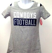 Women's Dallas Cowboys Rayna Athletic Gray T-Shirt Ladies XL