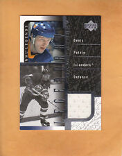 DENIS POTVIN 2000 01 UPPER DECK LEGENDS LEGENDARY GAME JERSEY # J-DP ISLANDERS