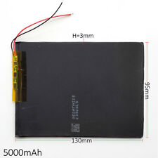 3.7V 5000mAh Li po Polymer li ion Battery 3095130 for Tablet PC PAD POWER BANK
