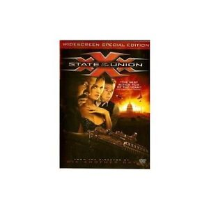 Brand New DVD XXX-State of the Union (Widescreen Special Edition) Vin Diesel