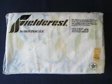"""Nos! Nwt! Vintage Fieldcrest Twin Fitted Sheet: 39""""X75"""" No Iron Percale: Exc"""