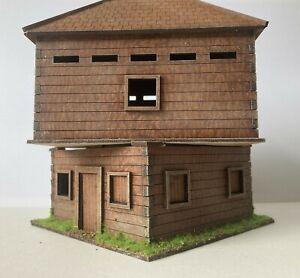 28mm Spanish 45 degree blockhouse prepainted kit