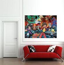 Bakugan Battle Brawlers Anime Manga Cartoon Giant New Poster Art Print